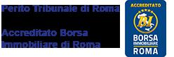 Accreditato Borsa Immobiliare di Roma